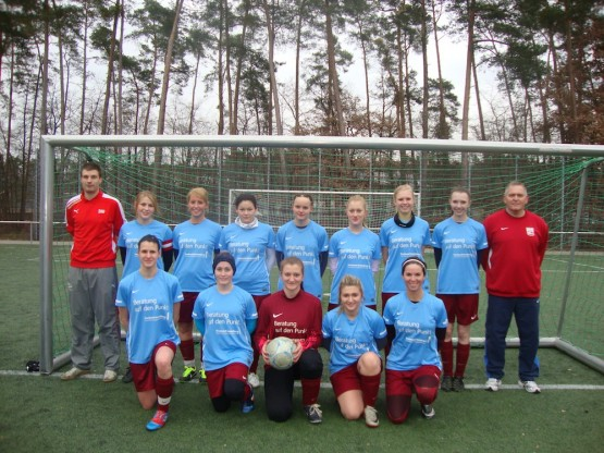 Mannschaftsbild Damen April 2013