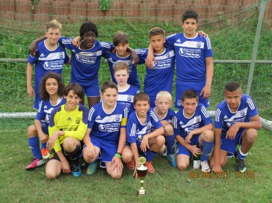 D2-Jugend in Hirschhorn am 8. Juni 2013