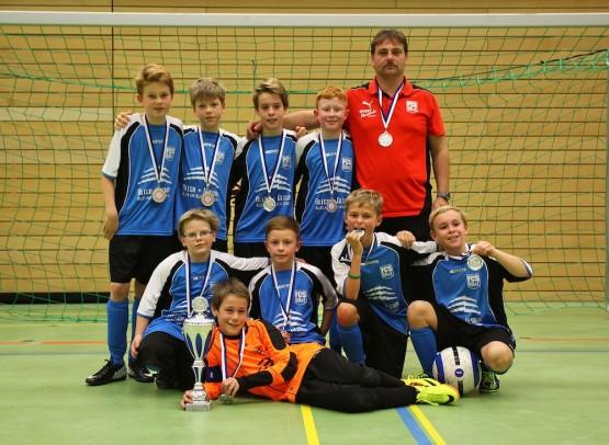 E1-Junioren: Zweiter Platz beim Sparkassencup 2013 in Walldorf