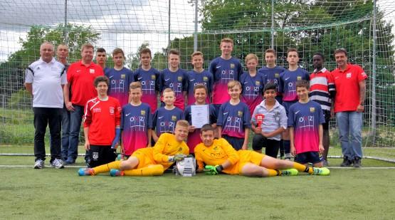 C-JugendMeister 13-14 FC Sandhausen