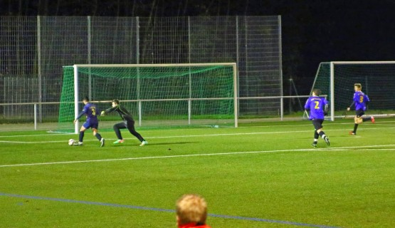 Fabio auf dem Weg zum ersten Treffer