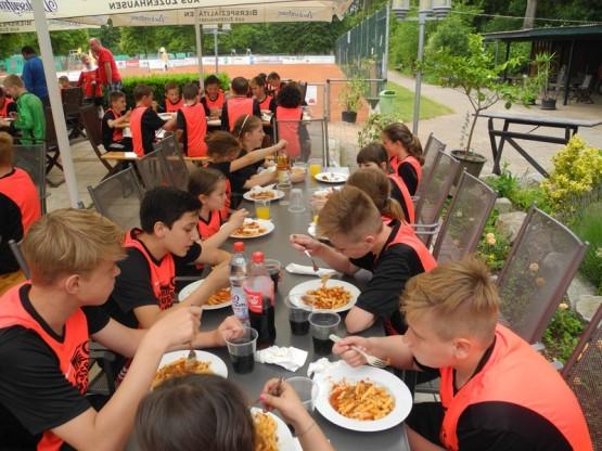 Feriencamp, Essen